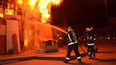 صورة النيابة تحقق في اندلاع حريق داخل شركة منظفات بحدائق الأهرام