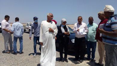 صورة رئيس مدينة سفاجا تستهدف البناء المخالف في منطقة كيلو 8 شمالًا