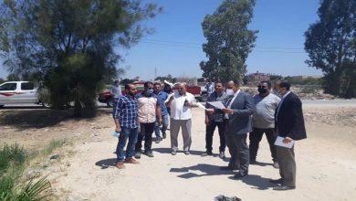 صورة نائب محافظ المنيا يتابع موقف مبانى مخالفة رصدتها وحدة المتغيرات بسمالوط.