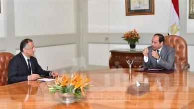 صورة السيسي يستعرض مع طارق عامر التطورات المالية والنقدية في ظل تداعيات جائحة كورونا