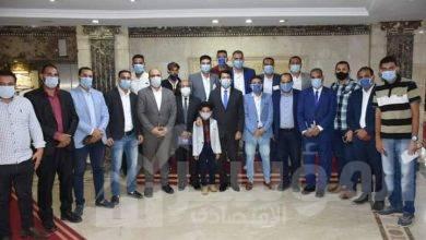"""صورة """"صبحى"""" يلتقي بمجموعة شباب من محافظة الشرقية لمناقشة مشكلاتهم"""
