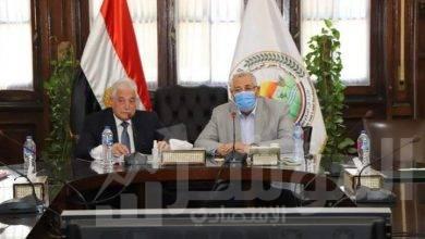 صورة وزير الزراعة ومحافظ جنوب سيناء يبحثان آليات زيادة التنمية الزراعية بالمحافظة