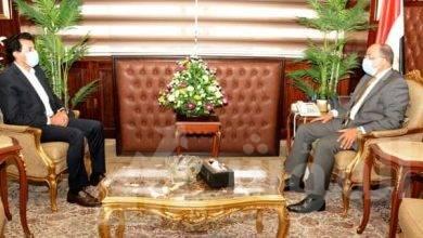 """صورة """"الشعراوى"""" و""""صبحى"""" يبحثان مشروعات التعاون المشتركة بالمحافظات"""