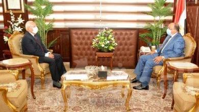 """صورة """"شعراوى"""" يلتقي مع محافظ بورسعيد لمتابعة المشروعات الجارية بالمحافظة"""