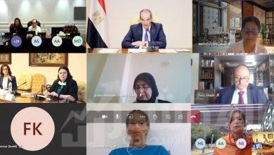 صورة بدء الجلسة الافتتاحية للاجتماع التشاوري الإقليمي العربي حول أخلاقيات الذكاء الاصطناعي