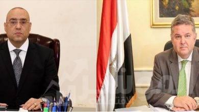 """صورة """"توفيق"""" و """"الجزار"""" يبحثان التعاون لتطوير وتنمية بعض الأراضي غير المستغلة"""