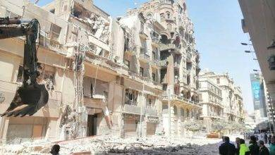 صورة «النيابة العامة» تباشر التحقيقات في واقعة انهيار عقار بشارع قصر النيل بالقاهرة
