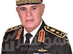 """صورة """"الفريق محمد فريد"""" يشهد تنفيذ المرحلة الرئيسية للمشروع التكتيكى بجنود ذو جانبين """" إصرار – 9 """""""