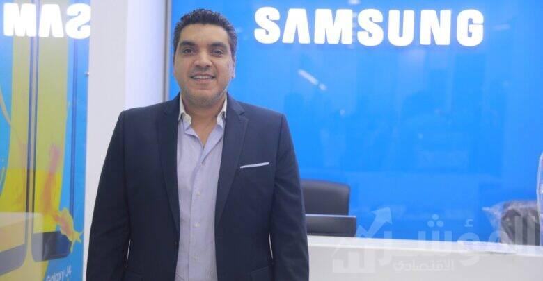 أحمد جعفر، رئيس قطاع التسويق بشركة سامسونج مصر