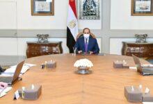 اجتماع الرئيس السيسي مع رئيس الوزراء وعدد من المسئولين اليوم
