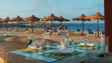 افتتاح المنطقة الشاطئية لفندق اللسان برأس البر بعد تطويرها