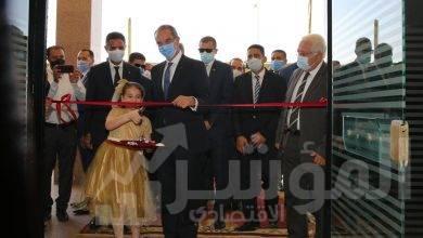 الدكتور عمرو طلعت اثناء الافتتاح