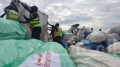 بنك الطعام يمد يد العون بمساعدات غذائية للأشقاء فى السودان