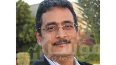 صورة شريف عبد الباقي رئيسا لتحرير مجلة لغة العصر