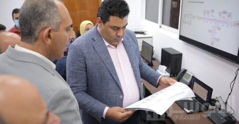 الرئيس التنفيذي للمصرية للاتصالات يتفقد سير العمل بمحطتي الإنزال براس غارب والزعفرانة