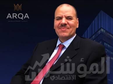 المهندس حلمي عباس، رئيس مجلس إدارة شركة ارقى للتطوير العقاري