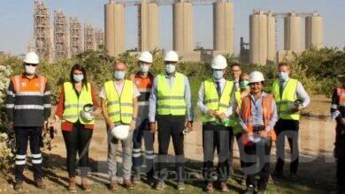 صورة السفير الفرنسي يزور لافارﭺ مصر