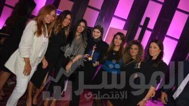 """صورة إنجي الصبان تتكرم في حفل """"قلادة المرأة المصرية"""""""