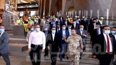 صورة رئيس الوزراء يتفقد المتحف المصري الكبير
