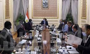 صورة رئيس الوزراء يلتقى وزير الرى لجمهورية جنوب السودان
