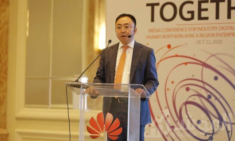 مايكل لي، رئيس مجموعة المؤسسات بهواوى شمال أفريقيا