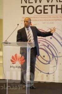 المهندس مدحت محمود، مدير الحلول الرأسية بشركة هواوي تكنولوجيز