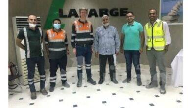 صورة جيوسايكل لافارﭺ مصر تنجح في التخلص الآمن من 34.9 طن مبيدات ضارة كانت متواجدة بالموانئ المصرية