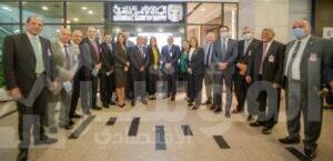 البنك الأهلي المصري يفتتح استراحة عملاء الاهلي بلاتينوم بمطار القاهرة الدولي