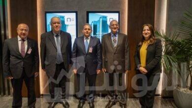 صورة البنك الأهلي المصري يفتتح استراحة عملاء الاهلي بلاتينوم بمطار القاهرة الدولي