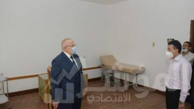 صورة د. الخشت يتفقد العيادات الطبية الجديدة بالمدينة الرياضية