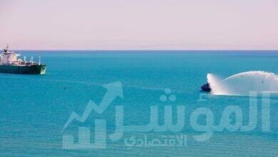 صورة اقتصادية قناة السويس : وصول أول سفينة بوتاجاز  للسخنة بحمولة 46 ألف طن
