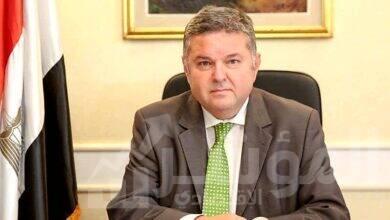 صورة وزير قطاع الأعمال العام يجتمع بممثلي اللجان النقابية بقطاع التأمين
