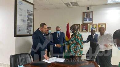 صورة مصر للطيران توقع مذكرة تفاهم مع دولة غانا لتأسيس شركة طيران جديدة بإفريقيا