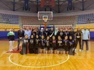 فريق نادي البنك الاهلي المصري لكرة السلة للسيدات الدوري الممتاز