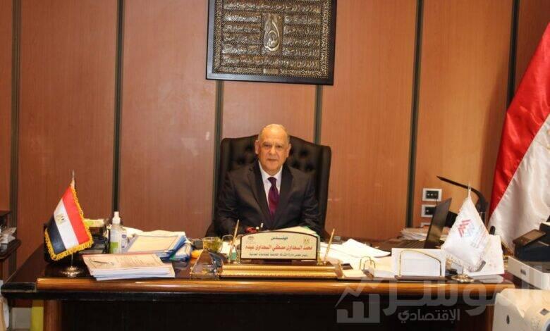 المهندس/ محمد السعداوى رئيس مجلس إدارة الشركة القابضة للصناعات المعدنية
