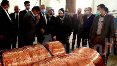 صورة وزيرة التجارة والصناعة ومحافظ القليوبية يتفقدان عدد من المصانع بمنطقتى باسوس والعكرشة