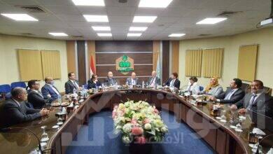 صورة جمعية مستثمرى العاشر تستقبل سفير الأرجنتين لبحث التعاون الإقتصادى بين البلدين