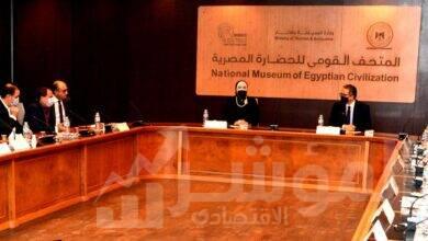 صورة وزيرا التجارة والصناعة والسياحة والاثار يبحثان الترتيبات الخاصة بمحتوى الجناح المصري بمعرض اكسبو دبي 2020