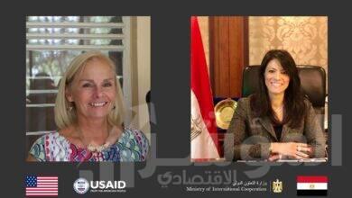 صورة المشاط و الوكالة الأمريكية اتفقا:استراتيجية التعاون الاقتصادي بين مصر وأمريكا خلال الخمس سنوات القادمة