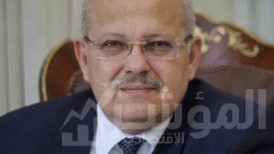 صورة الخشت:رفع درجة التشديد على الالتزام بالإجراءات الاحترازية بجامعة القاهرة