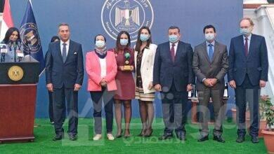 """صورة وزارة الاعلام تكرم """"جهينه"""" لدورها الريادي في تحقيق التنمية المستدامة"""