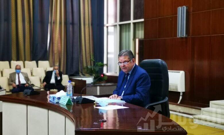 الوزير خلال عمومية القابضة للغزل والنسيج لاعتماد موازنة 2020/2021
