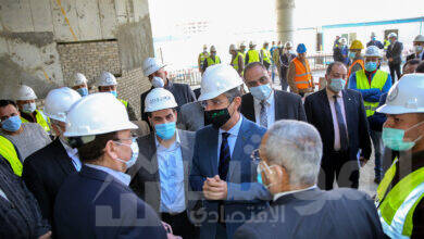 """صورة الدكتور شريف فاروق: المقر الجديد سيكون اضافة قوية """" للبريد المصري """" ودعماً كبيراً لمنظومة العمل"""