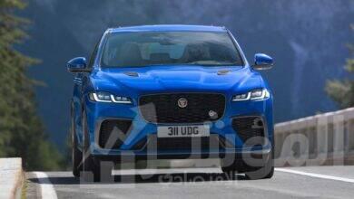صورة جاكوارF-PACE SVRالجديدة: السيارة فائقة الأداء أسرع وأكثر فخامة وإتقاناً