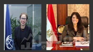 صورة وزيرة التعاون الدولي تلتقي المدير الإقليمي للبنك الدولي لمتابعة أعمال البعثة الخاصة بإطار تمويل سياسات التنمية