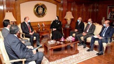 صورة توافق مصري عراقي لتحقيق التكامل الاقتصادي المشترك خلال المرحلة المقبلة