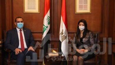 صورة «المشاط» تبحث مع وزير التخطيط العراقي متابعة نتائج اللجنة العليا المشتركة وتفعيل مذكرات التفاهم الموقعة