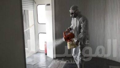 صورة وزارة الطيران المدنى تكثف التدابير الإحترازية و عمليات التعقيم بجميع المطارات المصرية