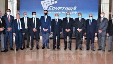 صورة إفتتاح ورشة عمل لوجستيات النقل الجوي لمستشاري وقضاة المحاكم الاقتصادية