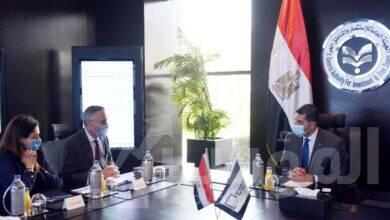 صورة رئيس هيئة الاستثمار يبحث مع رئيس الغرفة الألمانية العربية للصناعة والتجارة سبل التعاون بين الجانبين